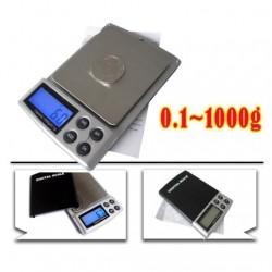 Digital mini scales High Quality 1000g x 0.1g silver