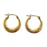 10K-gold-hoop-earrings-diamond-cut