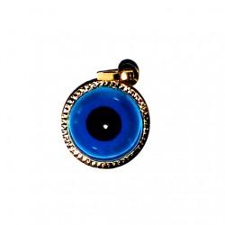 gold evil eye