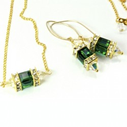 14k-gold-fill-earrings-necklace-set-swarovski-crystal-EMERALD-asc-set-00002E-530-2