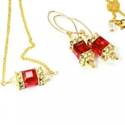 14k-gold-fill-earrings-necklace-set-swarovski-crystal-LIGHT-SIAM-asc-set-00002LS-530-2