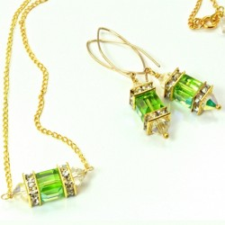 14k-gold-fill-earrings-necklace-set-swarovski-crystal-PERIDOT-asc-set-00002P-530-2