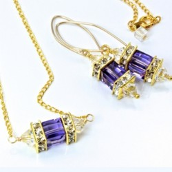 14k-gold-fill-earrings-necklace-set-swarovski-crystal-TANZANITE-asc-set-00002T-330-2