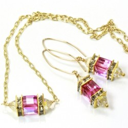 14k-gold-fill-earrings-pendant-set-swarovski-crystal-PADPARADSCHA-asc-set-00002PP-530-1