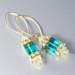 14k-gold-fill-earrings-swarovski-crystal-Light-Turquoise-asc-ear-00002LT-330