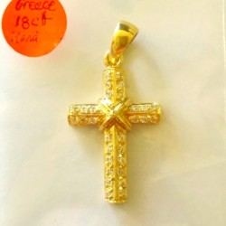 18K-cross-38x20x5mm-5.96g-zirconia-greece-gold-18K-yellow-zirconia-cross-530