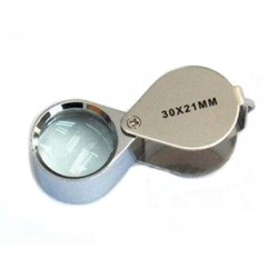 30x magnification Magnifier loupe Stainless steel