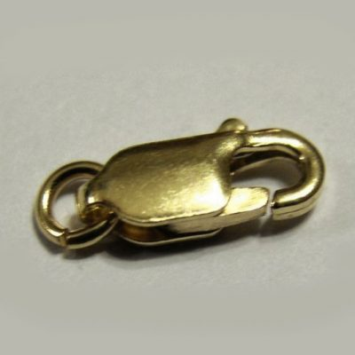 9ct Gold parrot clasp 10mm