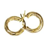 9ct-9kt-gold-hoop-earrings-twist-15mm-Italy
