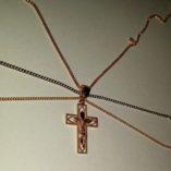 9ct-tri-colour-gold-crucifix-pendant-diamond-cut-11856