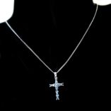 9ct-white-gold-cross-pendant-blue-stones
