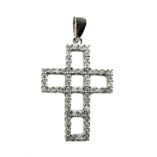 9ct-white-gold-cross-pendant-zirconia