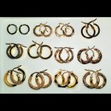 9ct-9kt-yellow-gold-hoop-earrings-Italy