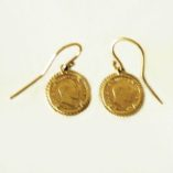 9ct-gold-earrings-1906-st-george-Sovereign-coin-image