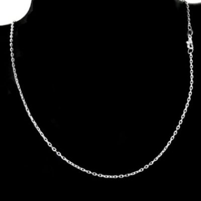Chain Sterling Silver Cable diamond cut 1.5mm (CAD50)