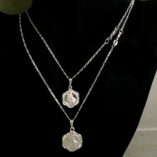 chain-sterling-silver-Figaro-13-diamond-cut-1.5mm-45cm-St-Christopher-medals