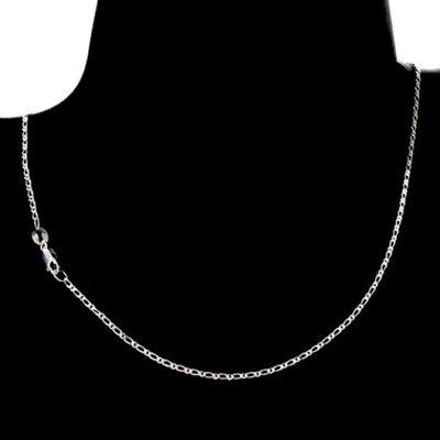 Chain Sterling Silver Figaro 11 diamond cut 2mm (FD51)
