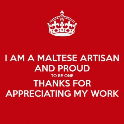 Maltese maker thanks you for appreciating her works of art.