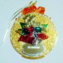 Ornament Christmas decoration Bells reindeer