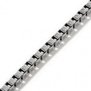 Chain Sterling Silver Box 2mm