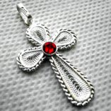 sterling-silver-filigree-cross-pendant-red
