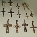 9ct-9kt-Gold-Cross-Crucifix-pendants