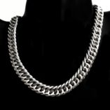 sterling-silver-chain-double-curb-bevelled-12mm-40cm-Italy