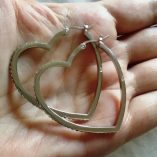 sterling-silver-earrings-hoop-Heart-3.8cm