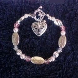 Love Daughter Forever bracelet