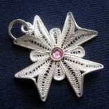 maltese-cross-filigree-pendant-sterling-silver-2-5cm-pink