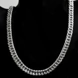 sterling-silver-chain-double-curb-bevelled-10mm-45cm-Italy-D150CDBV