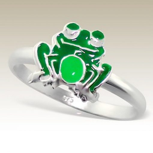 Frog ring Sterling Silver