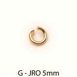 9ct yellow Gold jump ring open 4mm