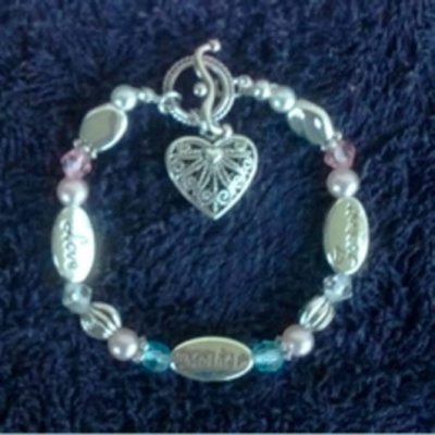Love Mother forever bracelet
