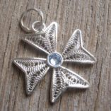 maltese-cross-filigree-pendant-Sterling-Silver-2cm-light-blue