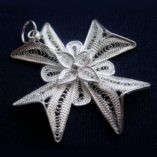 maltese-cross-filigree-pendant-silver-3.5cm