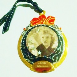 Ornament decoration Marilyn Monroe Merry Christmas gift handmade