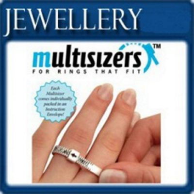 Multisizer ring size measurements gauge A - Z