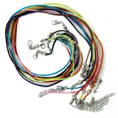 Necklace cord suede leather 10 colours 45cm - 50cm