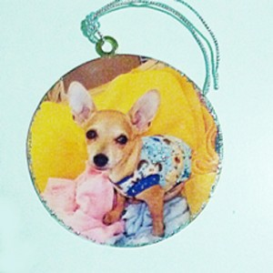 Ornament decoration Chihuahua Pepe SPECIAL ORDER
