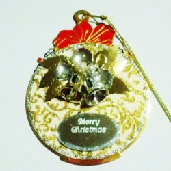 Ornament Christmas decoration silver Bells