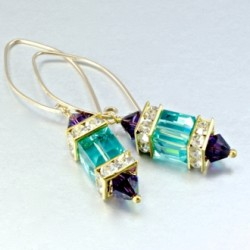 singapore-orchid-II-earrings-turquoise-cube-purple-velvet-bicone-asc-ear-orchid-II-330