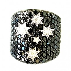southern-cross-concave-ring-encrusted-black-clear-cz-24x24mm-Size-Q-14g-scg-rng-SCR20-530