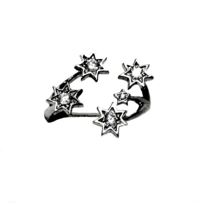 Sterling Silver Southern Cross ring adjustable size.
