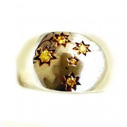 southern-cross-round-dome-ring-15x20mm-gold-cz-gold-star-size-U-11g-scg-rng-R0030-530