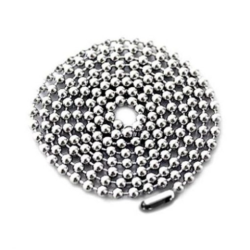 Stainless steel ball chain 2.4mm 60cm