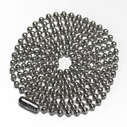 Stainless steel ball chain 3.2mm 60cm