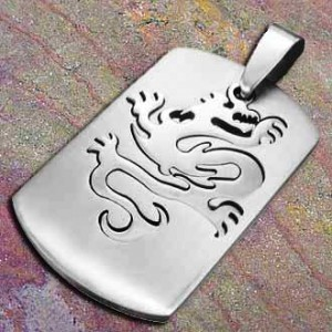 Stainless Steel pendant Dragon