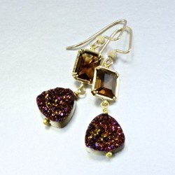 titanium-coated-drusy-Agate-smoky-quartz-14K-gold-filled-earrings-asc-ear-00018-530