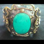 cuff-bracelet-turquoise-tri-colour-metal